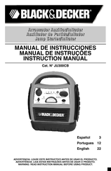 Black & Decker JU300CB Instruction Manual