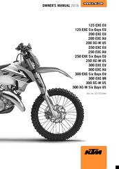 ktm 300 exc owner s manual pdf download