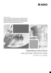 asko op8636s manuals rh manualslib com Kenmore Oven Manual Kenmore Elite Oven Manual