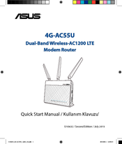 Asus 4G-AC55U Quick Start Manual