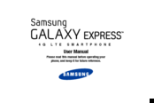 Samsung Galaxy Express User Manual