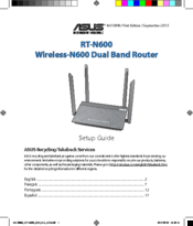 Asus RT-N600 Setup Manual
