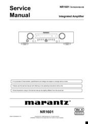 marantz slim line nr1601 manuals rh manualslib com Marantz NR1403 Marantz 1401
