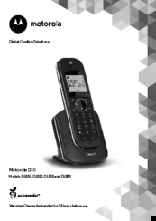 motorola d1002 manuals rh manualslib com User Manual Jabra Bluetooth Manual