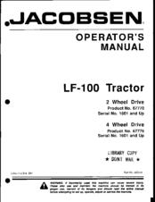 jacobsen 1900d manual on