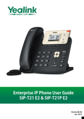 yealink ip phone sip t26p manual