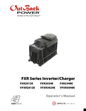 Outback Power FXR2024E Manuals