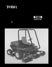 Toro 03543 Reelmaster 5400 D Manuals