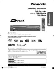 panasonic diga dmr ez48v manuals rh manualslib com panasonic dmr-ez48v user manual panasonic dmr-ez48v user manual