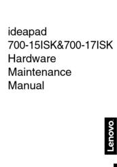 Lenovo Ideapad 700 17isk Manuals Manualslib