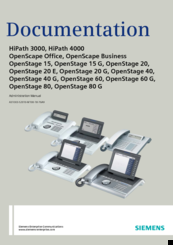 Siemens HIPATH 2000 Administration Manual