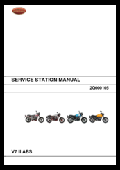 moto guzzi v7 ii abs manuals