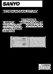 Sanyo FXD-C222 Operating Instructions Manual