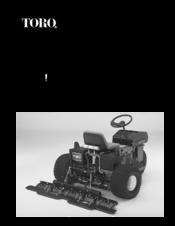Toro SAND PRO 5020 Filter Service Kit
