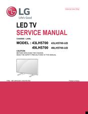 Lg 43LH5700-UD Manuals