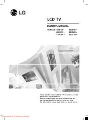 lg 20lc1r series manuals rh manualslib com LG Cell Phone Operating Manual LG Manuals PDF