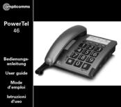 Amplicomms powertel 46 User Manual