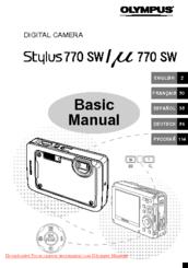 olympus stylus 770 sw manuals rh manualslib com Olympus Stylus TG-630 Olympus Stylus 35Mm