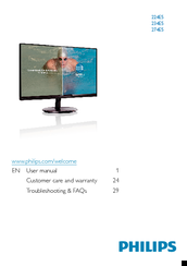 Philips 220B1CB/27 Monitor Drivers Update