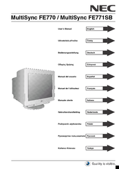 DOWNLOAD DRIVERS: MULTISYNC FE770