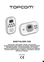 topcom babytalker 1020 manuals rh manualslib com topcom twintalker 9100 user manual topcom twintalker 9100 user manual