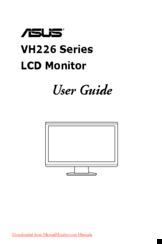 asus vh226 series manuals rh manualslib com Army Asu Setup Diagram Army Asu Set Up
