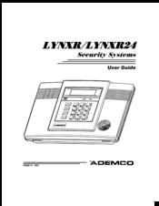 ademco lynxr24 manuals rh manualslib com honeywell lynxr 2 user manual lynxr-2 installation manual
