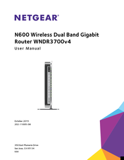 NETGEAR WNDR3700V4 USER MANUAL Pdf Download