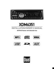 dual xdm6351 manuals rh manualslib com