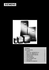siemens midimaster vector manuals rh manualslib com Vector Research VT 300 Book Vector