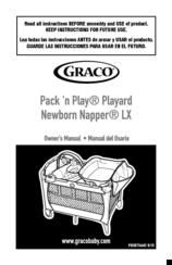 Graco pack 'n play manuals.