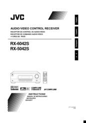 jvc rx 6042s manuals rh manualslib com JVC Speakers JVC Speakers