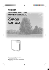 Toshiba CAF-G3A Owner's Manual