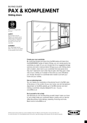Ikea Pax Manual Pdf Download Manualslib