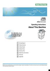 Ricoh aficio mp c2030 manuals ricoh aficio mp c2030 operating instructions manual publicscrutiny Image collections
