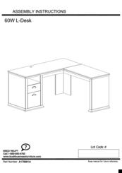 Bush Furniture 60w Manuals