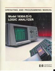 HP 1630D Operating And Programming Manual