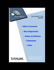 New Driver: LEXMARK Printer 1020 Color Jetprinter