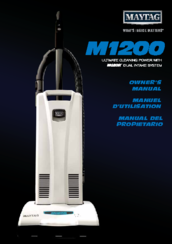 Maytag Smart Fill M1200 Owner's Manual