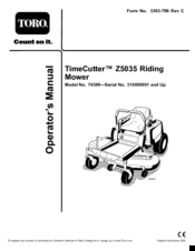 1160306_74398_product toro timecutter z5035 manuals toro timecutter z5000 wiring diagram at bayanpartner.co