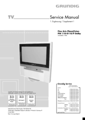 grundig pw 110 8110 9 manuals rh manualslib com
