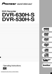 pioneer dvr 530h s manuals rh manualslib com H 264 DVR System Manuals H 264 DVR System Manuals