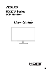Asus MX27U series User Manual