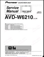 pioneer avd w6210 manuals rh manualslib com