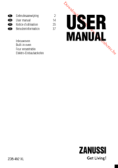 Zanussi ZOB 482 XL User Manual