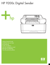 HP 9200C - Digital Sender Getting Started Manual
