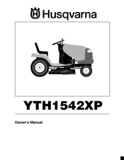 Husqvarna YTH1542XP Owner's Manual