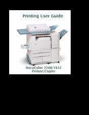 xerox docucolor 1632 manuals rh manualslib com DocuColor 260 DocuColor 260