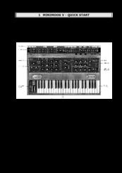 arturia minimoog v manuals rh manualslib com Moog Synthesizer Moog Synthesizer