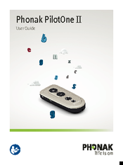 PHONAK PILOTONE II USER MANUAL Pdf Download